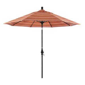 California Umbrella 9' Double Wind Vent Patio Umbrella