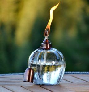H Potter Patio Garden Table Top Deck Torch
