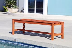 Vifah Baltic Outdoor Backless Benches Under $100