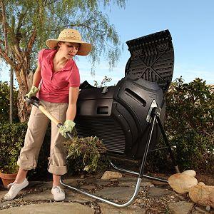 Lifetime 60058 Compost Tumbler, Single Chamber