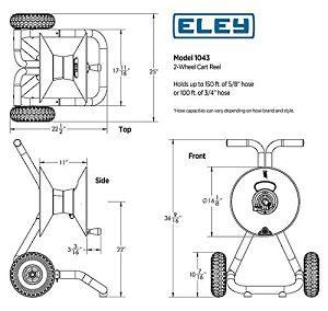 Eley 1043 Dimensions