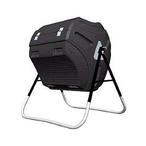 Lifetime 60058 Compost Tumbler Black 80 Gallon