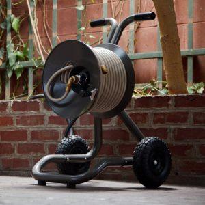 Rapid Reel Eley Garden Hose Reel Cart