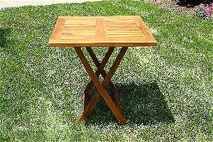Ala Teak Folding Table