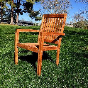 Bayview Patio Teak Arm Chair