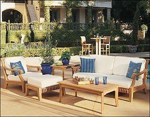 Wholesale Teak Giva 5 Piece Teak Sofa Set