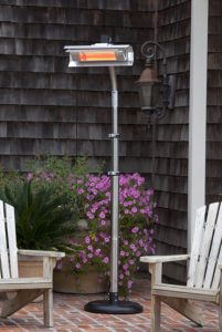 Fire Sense Telescoping Infrared Heater, the Best Electric Patio Heaters Around