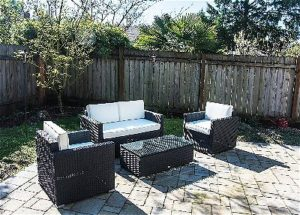 Outsunny Cushioned Outdoor Set on the Patio