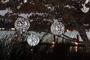 Soji Stella Market Solar Lanterns in Action