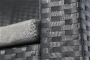Baner Garden Wicker Chair Detail