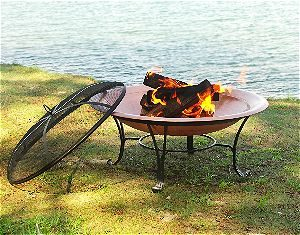 Catalina Creations Copper Fire Pit