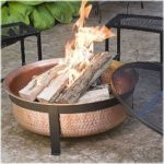 CobraCo SH101 Hand Hammered Copper Fire Bowl