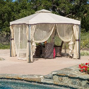 Sonoma Outdoor Soft Top Gazebo with Mosquito Netting