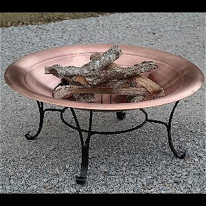 Titan 39in Copper Fire Pit Bowl