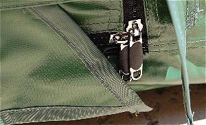 YardStash Zipper Detail