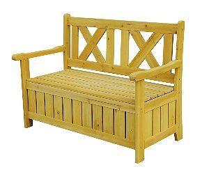 Leisure Season SB6024 Garden Storage Bench