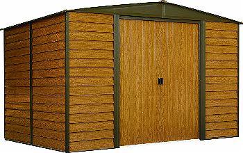 Arrow Woodridge Low Gable Steel Storage Shed