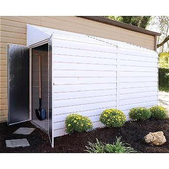 Arrow Yardsaver Small Space Steel Shed