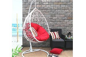 Baner Garden X35 Oval Egg Hanging Patio Lounge Chair