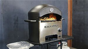 Blackstone Outdoor Pizza Oven in Action