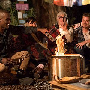 Enjoying the Solo Stove Bonfire