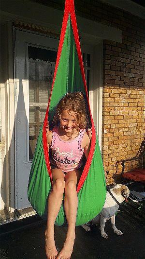 OUTREE Kids Pod Hanging Swing Seat