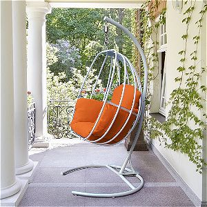 ART TO REAL Cheap Hanging Egg Chair