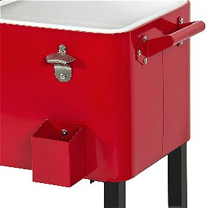 Best Choice Products Rolling Patio Cooler