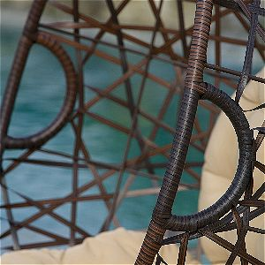 Christopher Knight Wicker Weave Detail