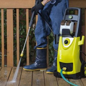 Hosing Down the Deck with the SPX3000