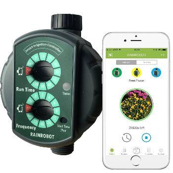 RainRobot SC6400 Smart Irrigation Controller and Smart Hose Timer