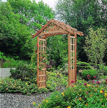 Arboria Nantucket Garden Arbor