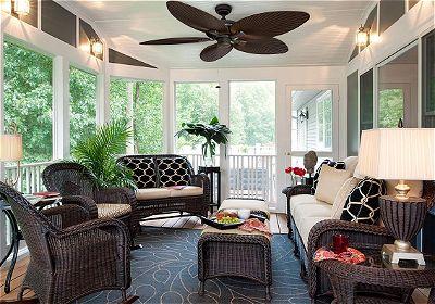 Honeywell Palm Island 52-Inch Tropical Ceiling Fan- Five Palm Leaf Blades
