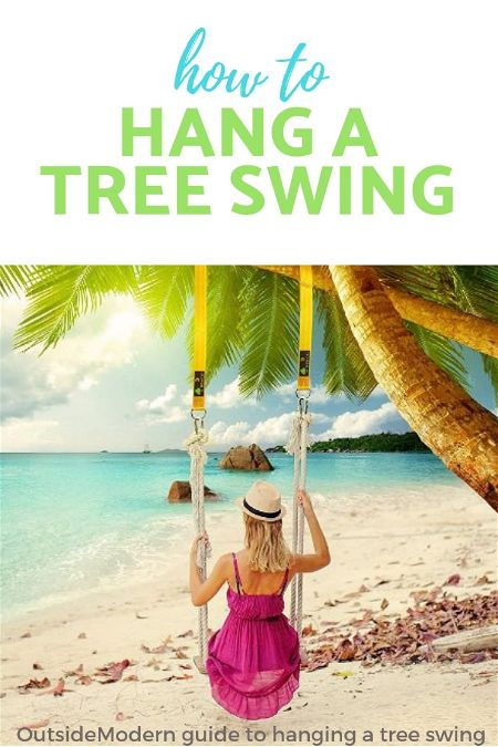 How to Hang a Tree Swing