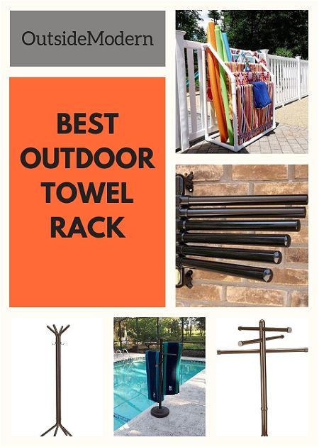 Best outdoor towel rack