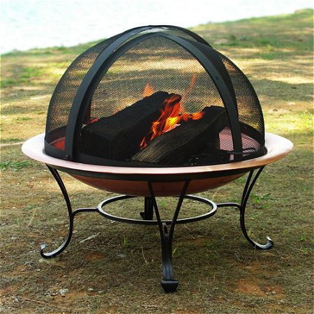 Catalina Creations Fire Pit Spark Screen