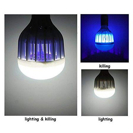Gloue 2 in 1 Bug Zapper Lamp Light