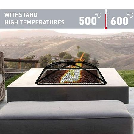 EasyGo Products Square Fire Pit Screen