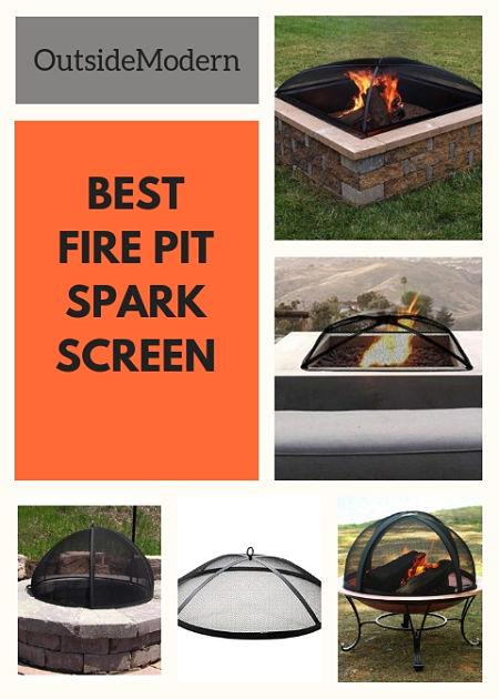 Best Fire Pit Spark Screen