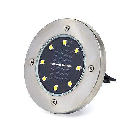UniKo Solar Disk Lights Outdoor Lighting Pack-Waterproof Landscape Yard Light