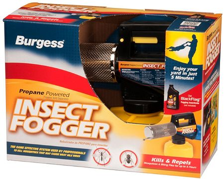 Burgess 960 Electric Propane Insect Fogger for Fast and Effective Mosquito Control