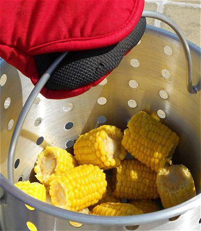 Corn in the King Kooker