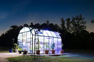 best solar power greenhouse fan