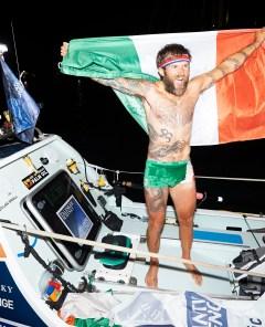Gavin Hennigan conquers the Atlantic