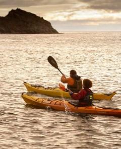 Kayaking in the East Inishowen Sea