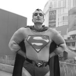 "Title Superman Medium Photography Size 12"" x 12"""