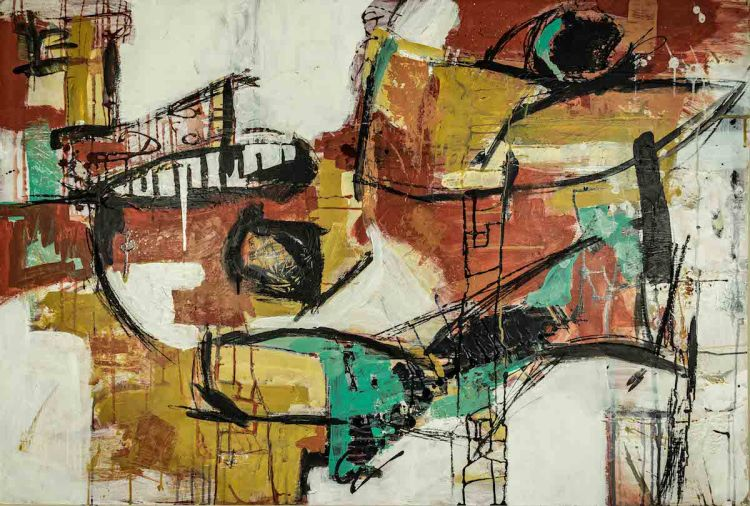 Title Untitled 16 Medium Acrylic Size 20in. X 20in.