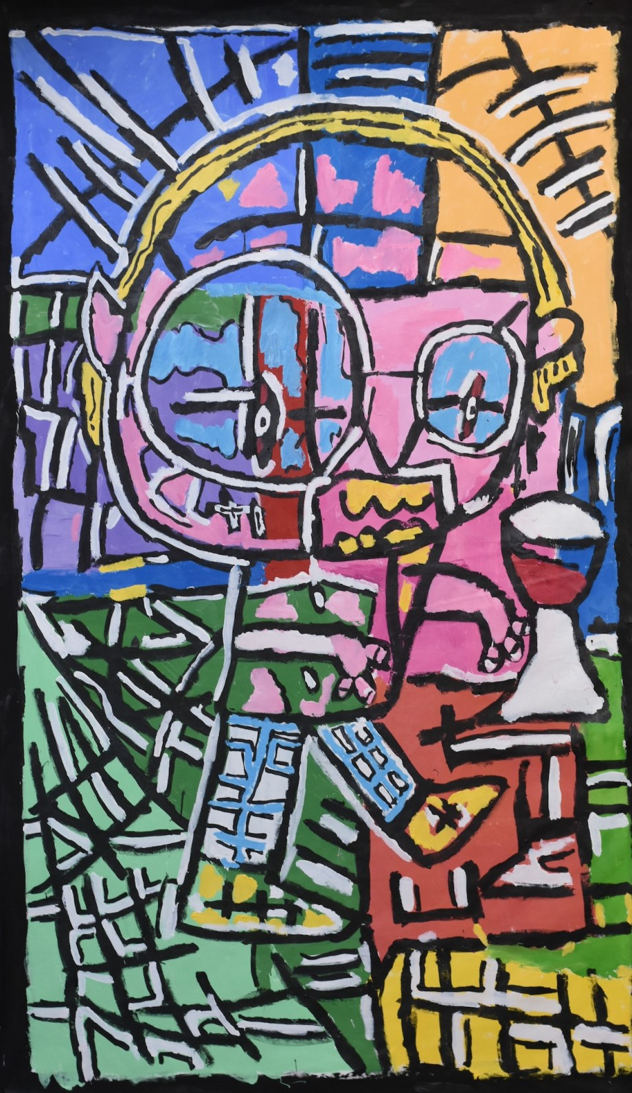 Future me of the Barossa Medium Acrylic on canvas Size 190cm x 110cm