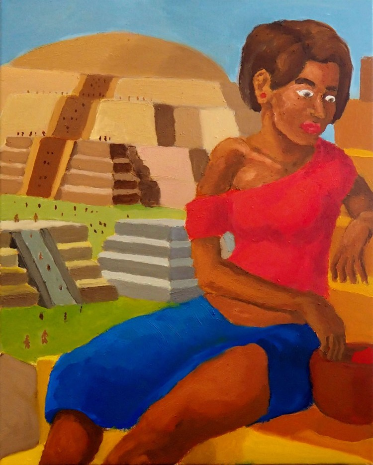 """Woman on a Staircase"" 