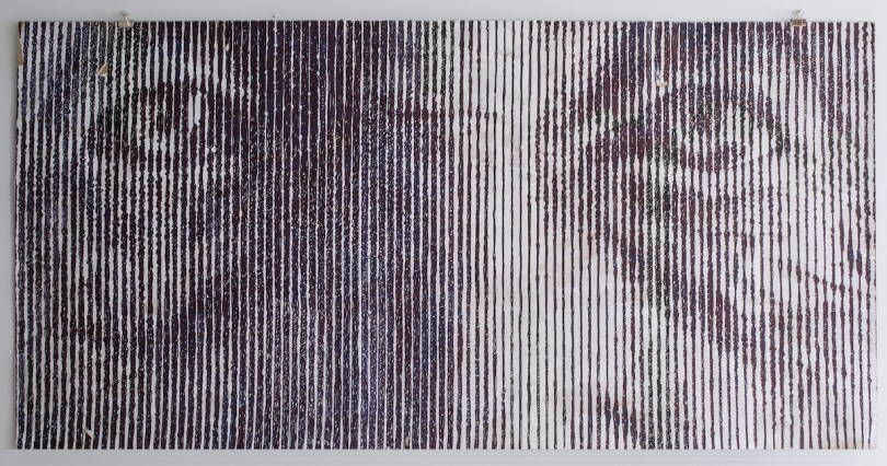 S… like Solveig aka What [?] If [?] or a New Grate v.7.13 | Mixed Media | 100 x 176 cm.